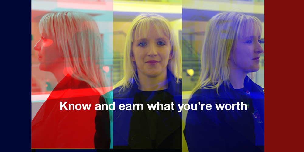 TS Julie slider Know and earn what you're worth